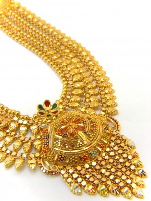 Gold Necklace Jewellery