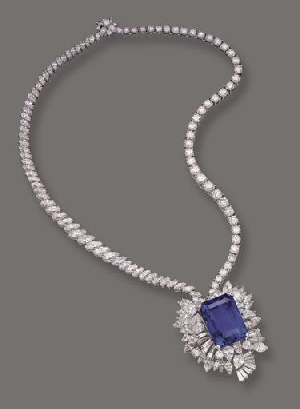 The Gordon Sapphire Necklace