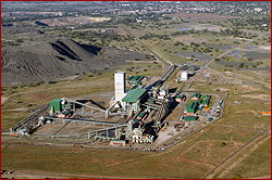 Kimberly mine owned by de beers