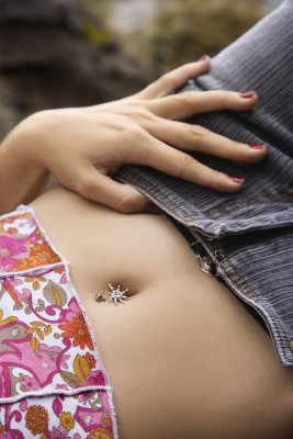 The humble belly button. belly pierced This the part of our body that ...