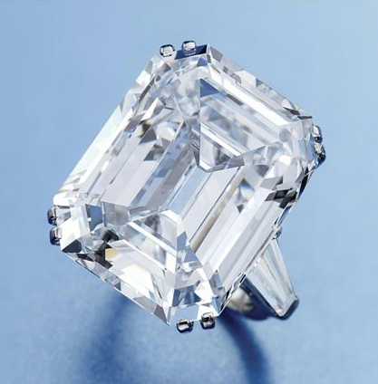 Emerald Cut Diamond 24.42 Carat