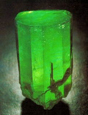 The Guinness Emerald Crystal
