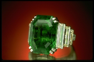 Maximillian Emerald Ring