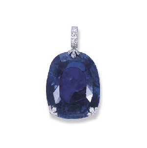 Queen Marie of Romania's Sapphire