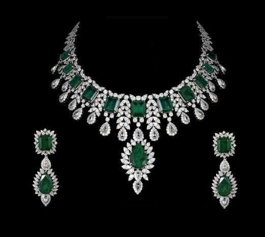 Emerald Necklace Jewelry Jewelinfo4u Gemstones And