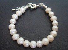 Hepburn freshwater pearl bracelet