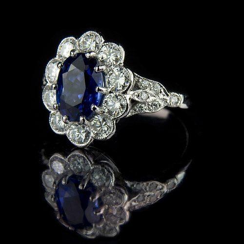 Sapphire-with-diamond