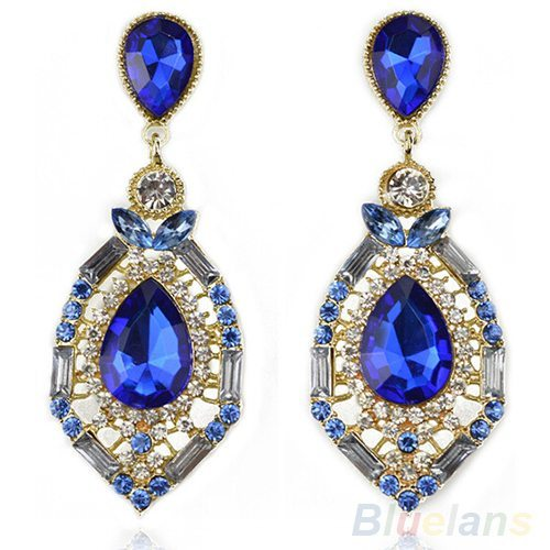 Women-Luxury-Elegant-Fuax-Rhinestone-Big-Drop-Earrings-Vintage-Earings-0257