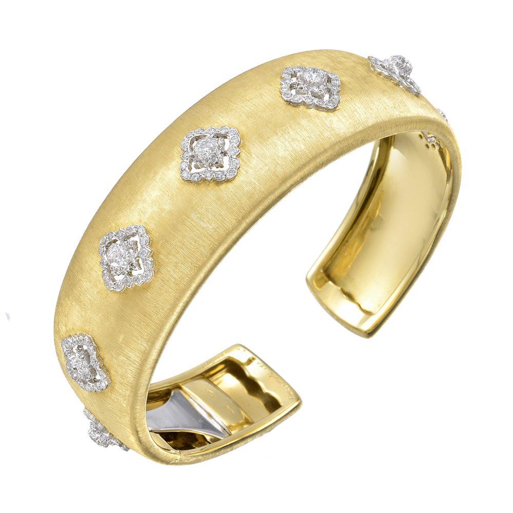 buccellati-cuff-bracelet-yellow-gold-diamond