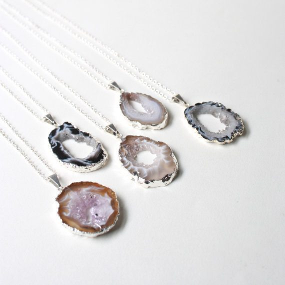 geode-necklace-stone-necklace-boho-jewelry-gypsy-jewelry-agate-necklace-bridesmaid-gift-layer-necklace-geode-pendant-boho-chic