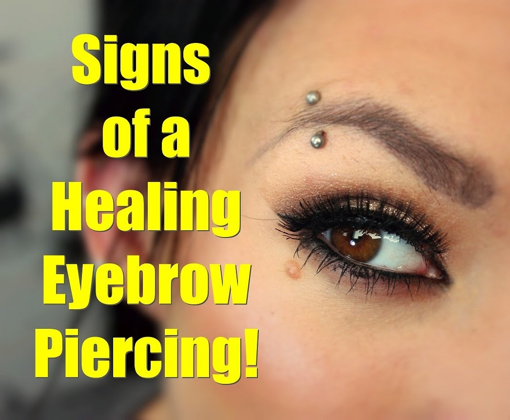 Eyebrow Piercing Care Jewelinfo4u Gemstones And Jewellery