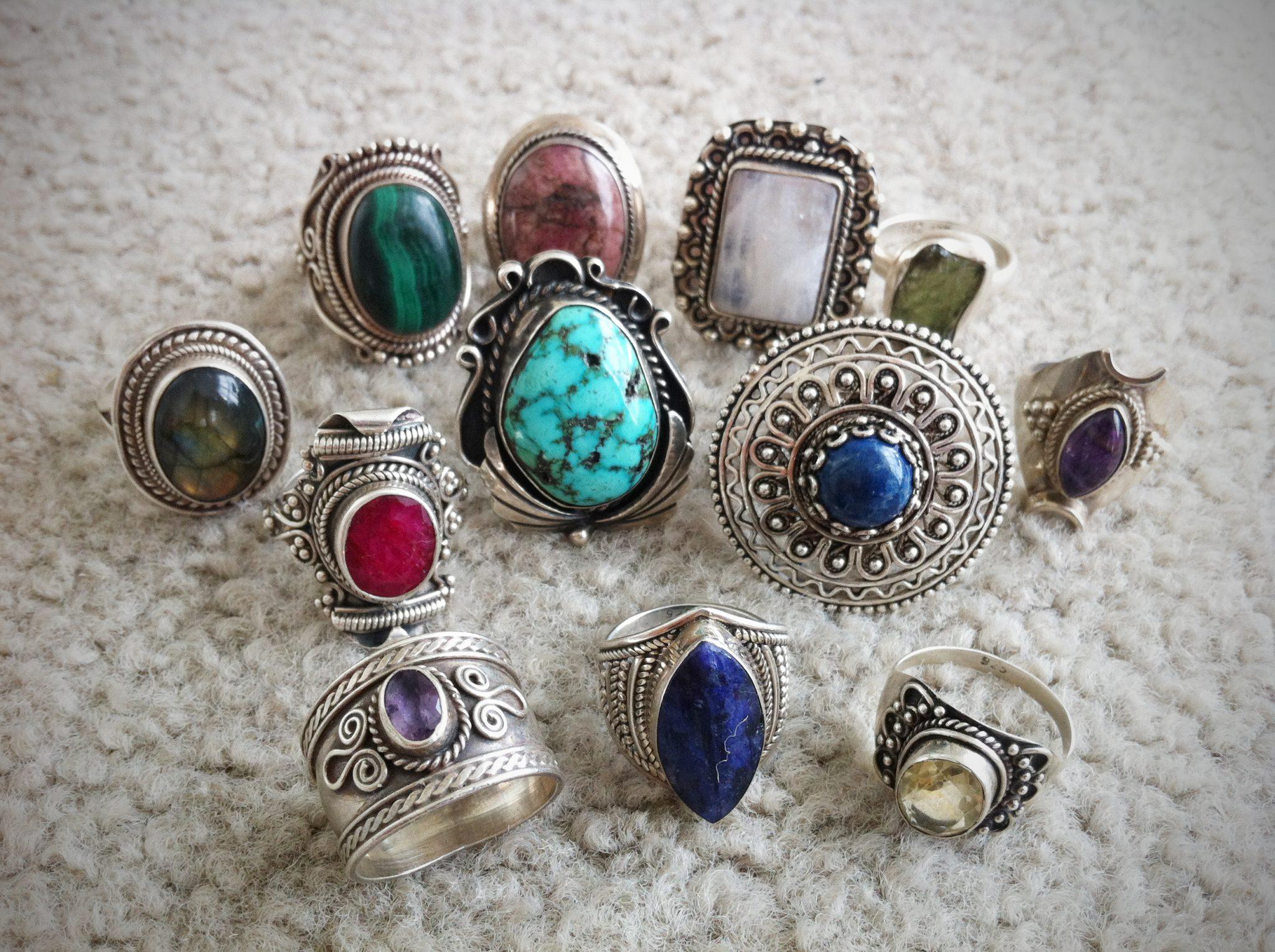 Antique Rings Jewelinfo4u Gemstones And Jewellery