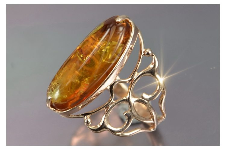 amber rings jewelinfo4u gemstones and jewellery