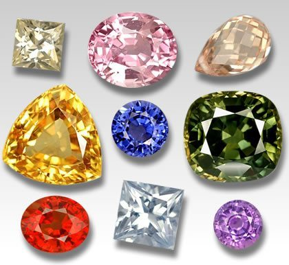 Types Of Sapphire Jewelinfo4u Gemstones And Jewellery
